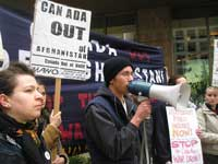 Metis Activist and MAWO organizer Aaron Mercredi